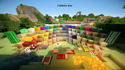 Faithful-64x64-Texture-Pack